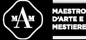 Mosaici Ursula Corsi Pietrasanta logo Artigianart logo Mam